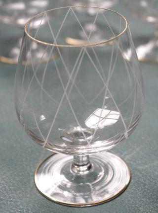 • 6 Kleine Cognac - Gläser • Ca.  50iger - 60iger Jahre • Bild