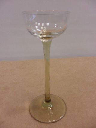 Antik Jugendstil Likörglas Stengelglas Sammler Verre De Liqueur Liqueur Glass Bild