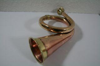 Hörrohr Hörmaschine Stethoskop Hörrohr Stethoscope Kupfer/messing Gr2 Bild