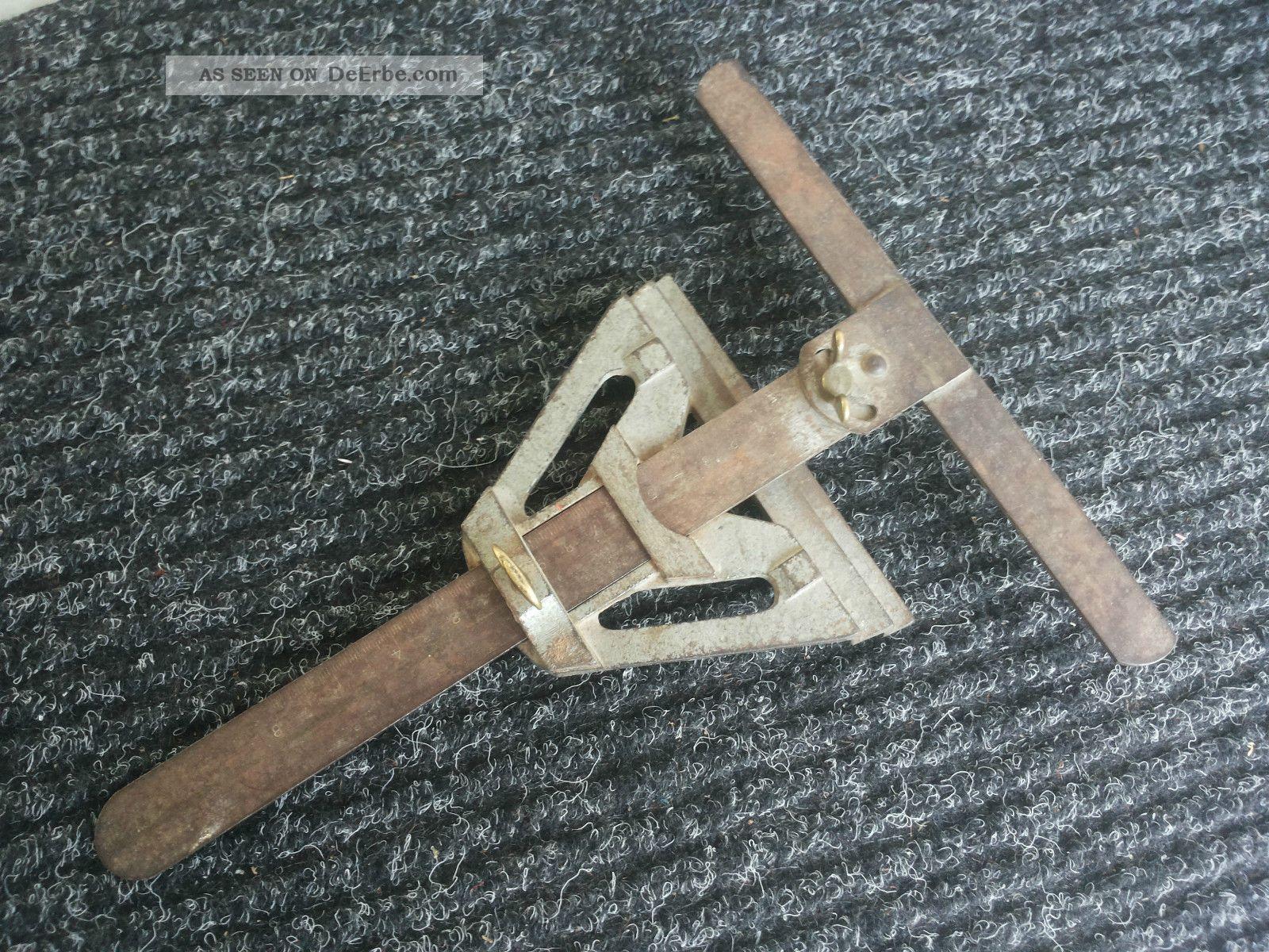 altes metall werkzeug - zimmermann, parkett - fliesenleger