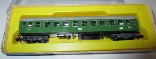 Arnold 0341 Schnellzugwagen 4 - Achsig,  2.  Klasse,  B4üm,  Grün Neuw.  /ovp Bild