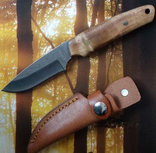 Haller Outdoor - Jagd - Fisch - Messer Mit Wurzelholzgriff Bild