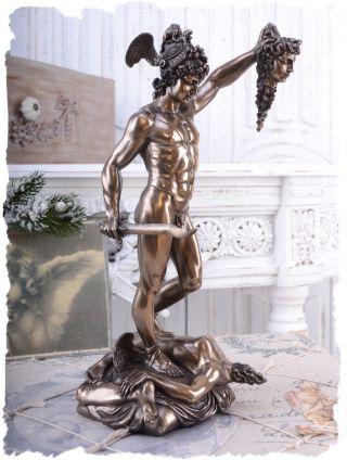 Kopf Der Medusa & Perseus Antike Mythologie Kunstwerk Von Veronese Bild