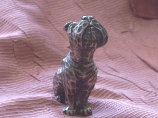 Scotch Terrier Hammerschlag Dekor Um 1930 Silber Platet Bild