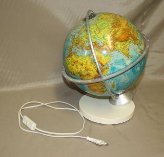 Columbus Verlag Großer Doppelbild Globus Mit Beleuchtung Und Gradeinteilung Bild