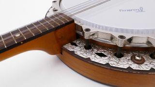 Rare Framus Banjo Bandoria Vintage Old No Guitar Mandoline Alte Gitarre Antique Bild