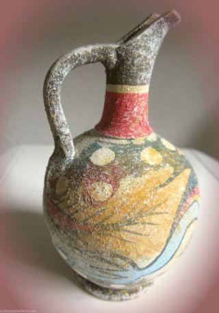 ✿ Kanne Tonkrug Replikat,  Orig.  V Ca 1500 V Chr,  Bei Kreta Gefunden,  Handmade 1 Bild