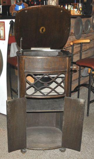 Altes Schrankgrammophon Bild