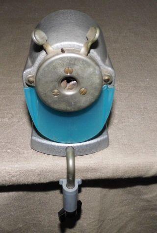 Ddr Bleistiftanspitzer Spitzer Spitzmaschine Gusseisen Modell Asis 130 Alt 1960 Bild