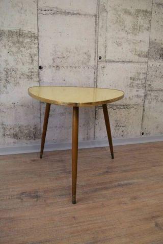 50er 60er Jahre Rockabilly Nierentisch Tisch Beistelltisch Couchtisch 3eck Tisch Bild