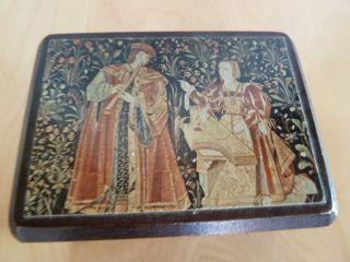 Hochwertige Alte Spieluhr Von Reuge Swiss Bild