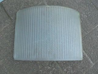 Ersatzscheibe Echtglas Für Alte Straßenlampe Ddr - Typ Rsl - Höhe 25 Cm Bild
