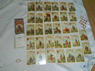 Le Jeu Du Destin Antique Piatnik No.  1944 Feine Aufschlagkarten Tarotkarten Bild