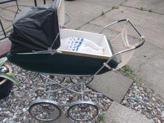 Ddr Alter Nostalgie Puppenwagen Für Reborn Baby & Babypuppe Mit Stimme Bild
