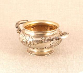 Alte Zuckerdose Silber 800 Antique Solid Silver Sugar Bowl Antik Rar Bild