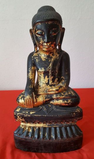 Antike Buddha Figur,