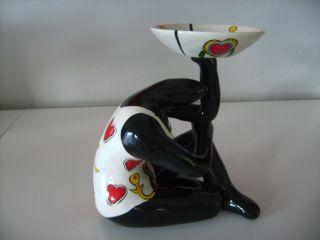 Tolle Nana - Hommage An Niki De Saint Phalle - Skulptur - Frau - Deko - Herz Bild
