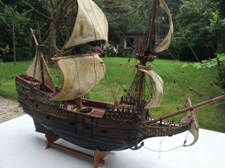 Altes Segelschiffsmodell