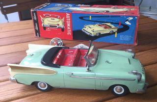 Schuco 5700 Synchromatic Packard - Mintgrün,  Mit Karton Bild