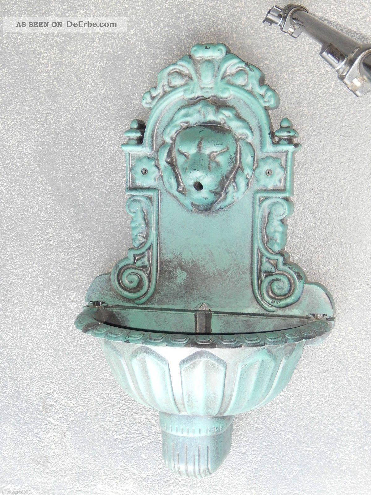 Springbrunnen wand brunnen l wenkopf wasserspeier for Waschbecken nostalgie
