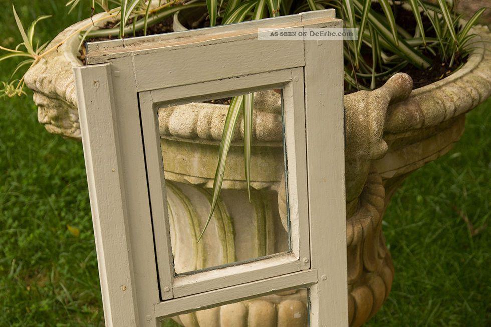 altes fenster fl gel fenster holzfenster scheibenfenster mit glas shabby chic. Black Bedroom Furniture Sets. Home Design Ideas