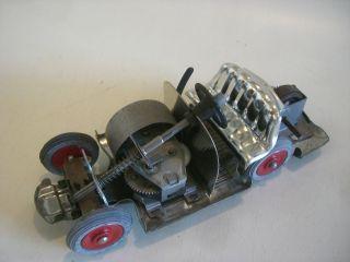 Z 331/ Schuco Akustico Unterteil Mit Uhrwerk,  Für Blechspielzeug Auto Bild