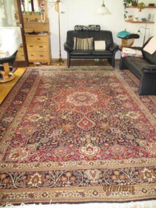 Orientteppich Perserteppich Täbriz Teppich Handgeknüpft 395 X 280 Bild