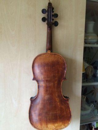 Alte Geige Fur Deko Oder Basteln Bild