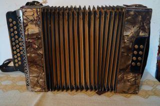 Hohner Ziehharmonika Akkordeon Bild