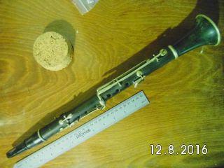 Klarinette (simple/albert - System 1800 - 1900 ?) Bild