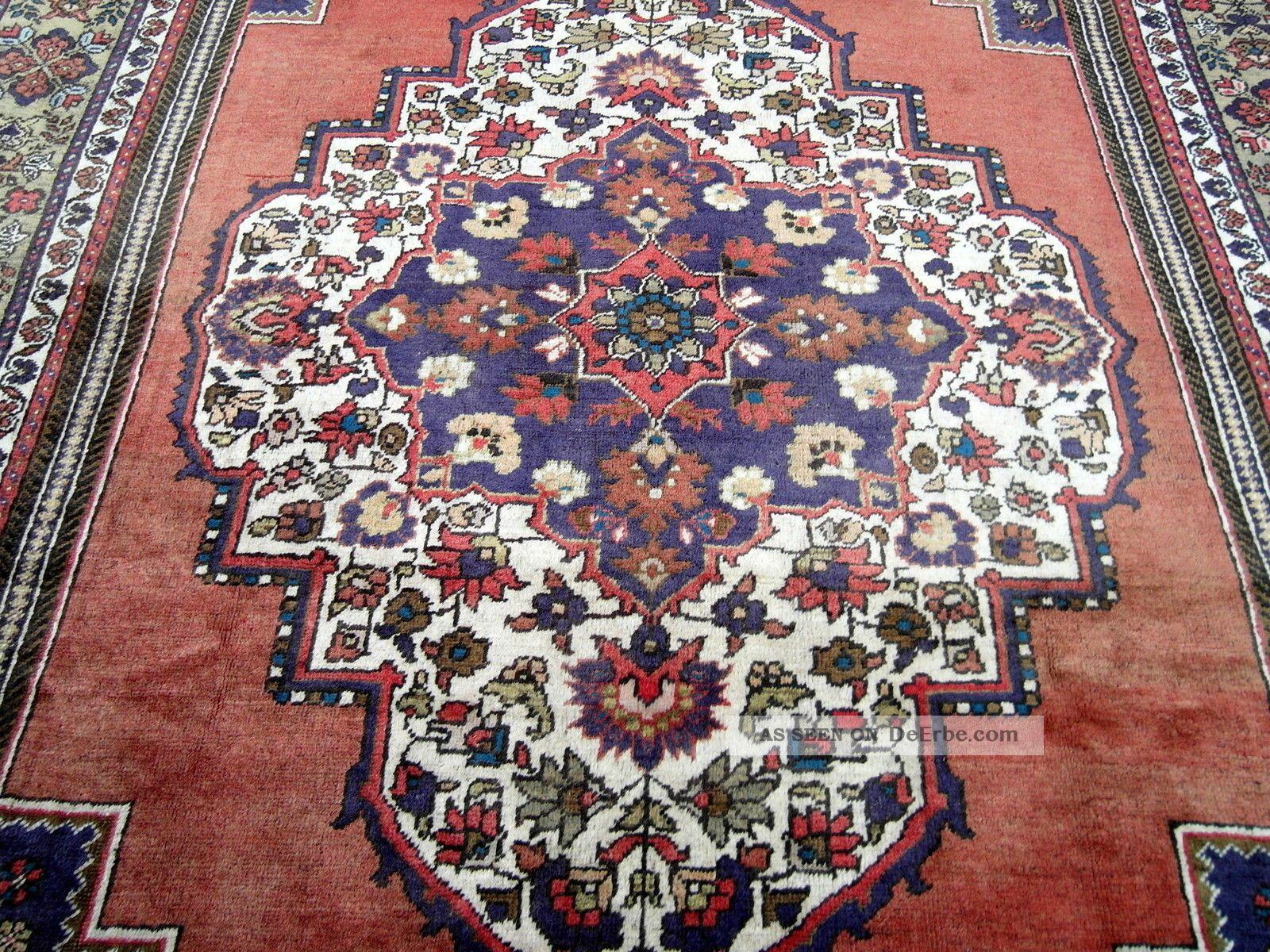 Antiker Alter Orient Teppich 394 X 240 Cm Yahyali Antique