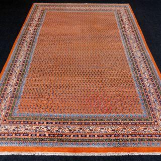Orient Teppich Indo Mir 300 X 200 Cm Rotrost Handgeknüpft Red Carpet Rug Tappeto Bild