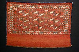 Antiker Teppich TÜrkmen Tekke Ca: 110x77cm SammlerstÜck Antique Rug Bild