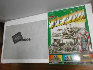 Sonderheft Spielzeugsoldaten Bunker & Zubehör Elastolin Kienel,  Lineol Katalog Bild