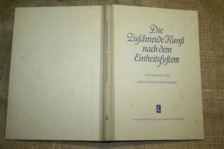 Fachbuch Damenschneider,  Schneider,  Röcke,  Blusen,  Schnittmuster,  Ddr 1953 Bild