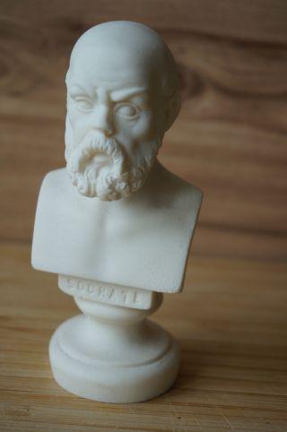 Büste Sokrates Socrate - Statue Bild