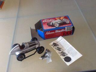 Spielzeug Schuco Studio - Lehrspielauto Mit Werkzeug Mercedes Grand Prix 1936 Bild