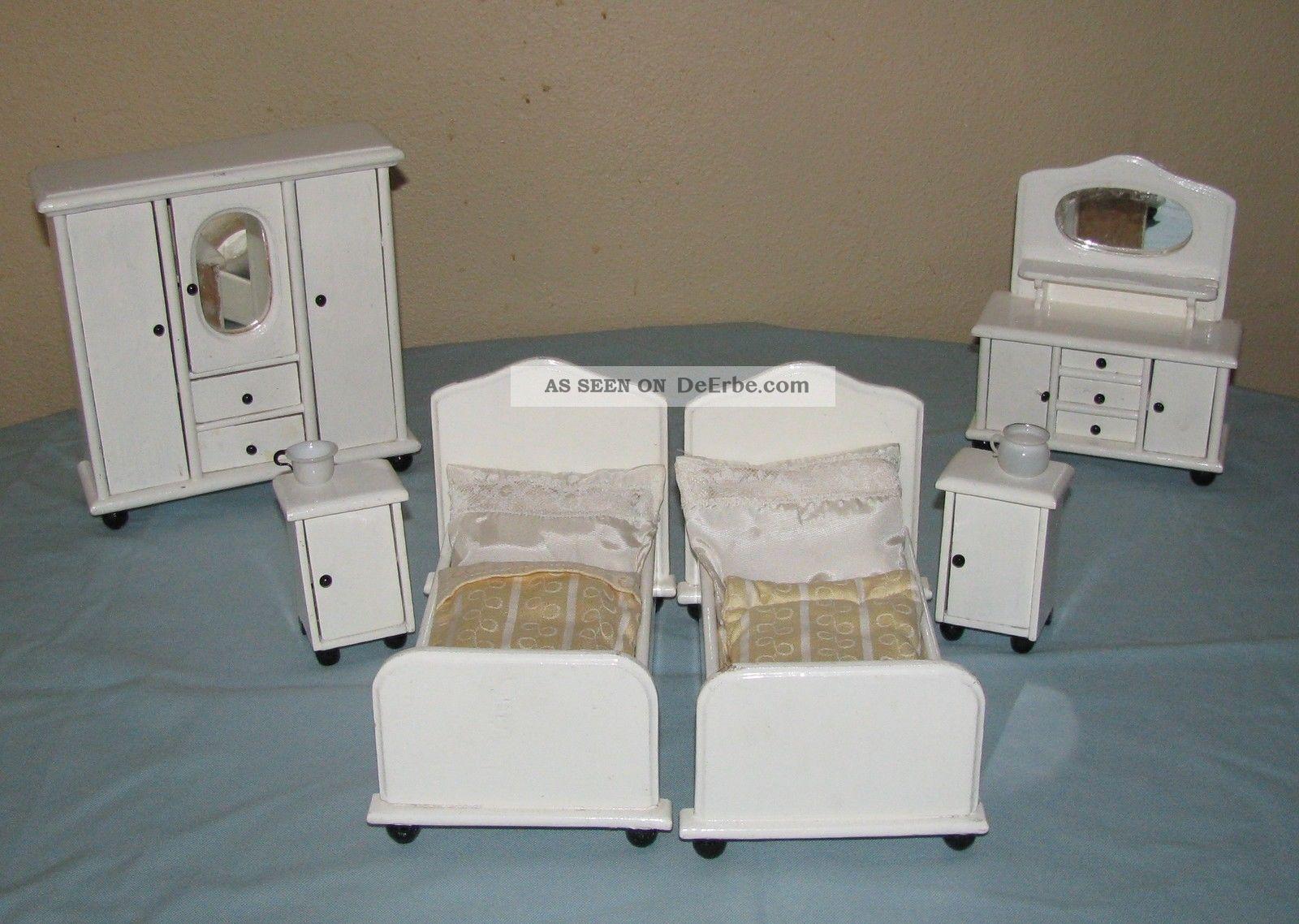 alte m bel schlafzimmer m bel puppenstube puppenhaus gottschalk. Black Bedroom Furniture Sets. Home Design Ideas