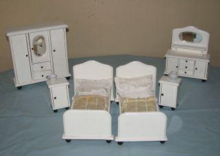 Alte Möbel Schlafzimmer Möbel Puppenstube Puppenhaus - Gottschalk? Bild