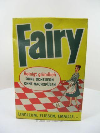 Fairy - Reinigungskonzentrat - Keine Repro - Alt - Vintage - Retro Bild