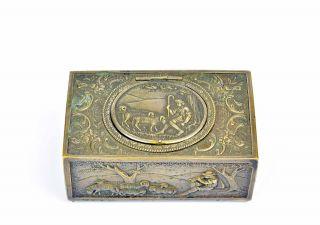 Gehäuse Für Singvogelautomat Singvogeldose Case Singing Bird Music Box Automaton Bild