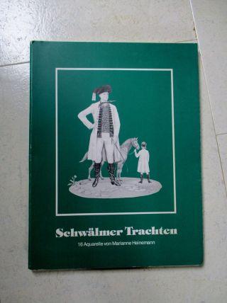 Schwälmer Trachten - 9 Von16 Aquarelle Von M.  Heinemann - Mappe Bild