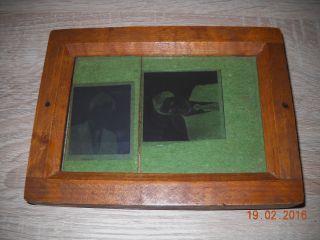 Alter Belichtungsrahmen,  Entwicklerrahmen Ca.  1930 Holz, Bild