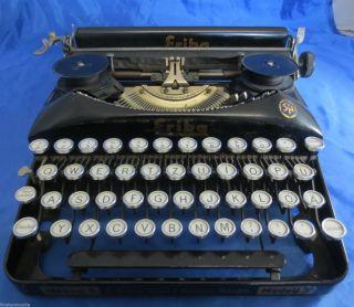 Seltene Schreibmaschine Erika Modell S Naumann Dresden Typewriter Um 1930 Bild