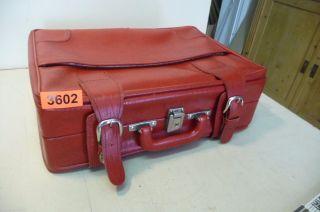 Nr.  3602.  Alte Tasche Aktenkoffer Leder Tasche Aktentasche Koffer Bild
