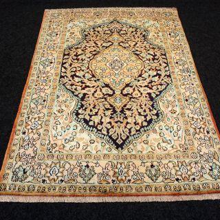 Orient Teppich Seide 158 X 102 Cm Seidenteppich Perserteppich Silk Carpet Rug Bild
