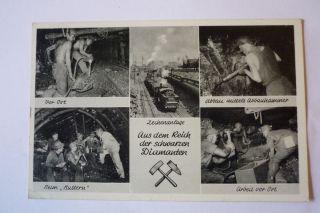 Alte Fotopostkarte Bergbau Aus Lünen Bild