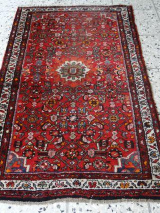 Orientteppich Borchalu 1350 Dm HandgeknÜpft BrÜcke Teppich BrÜcke Alt Antik Bild