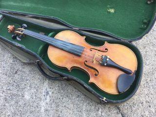 Alte Geige Old Violin Michael Reindl In Mittenwald An Der Isar 1935 Bild
