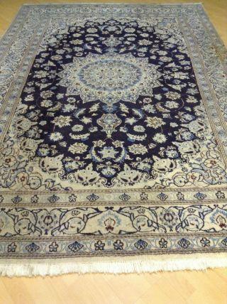 Handgeknüpfter Nain Orientteppich Teppich Tapeto Ca,  295 X 208 Cm Aus Iran Bild